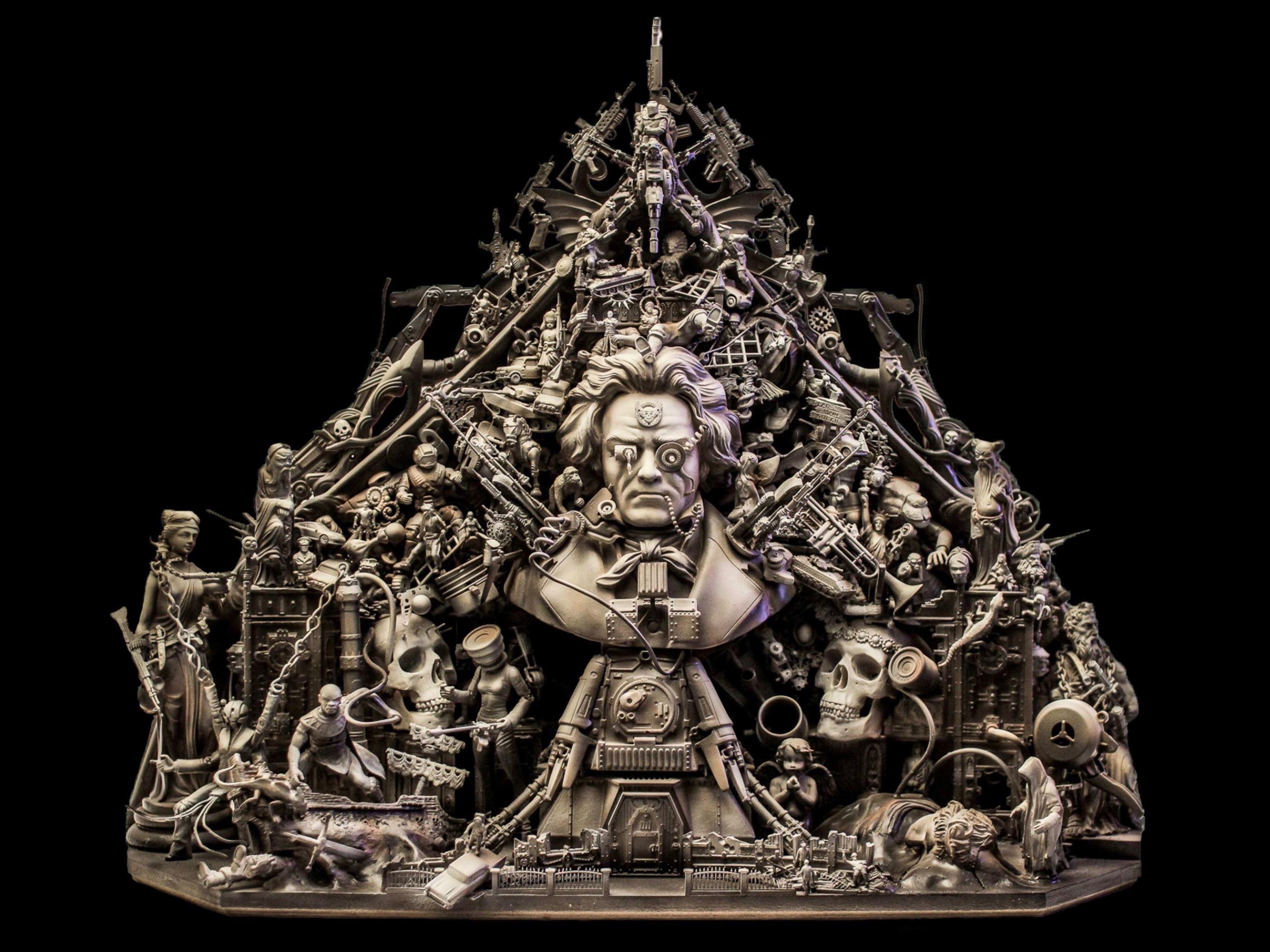Artwork Sculpture toys cake