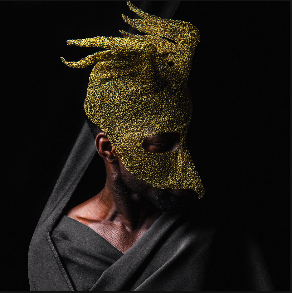 Sculpture artwork venetian mask