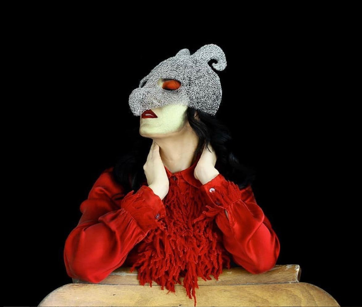 Venetian mask, artwork Sculpture