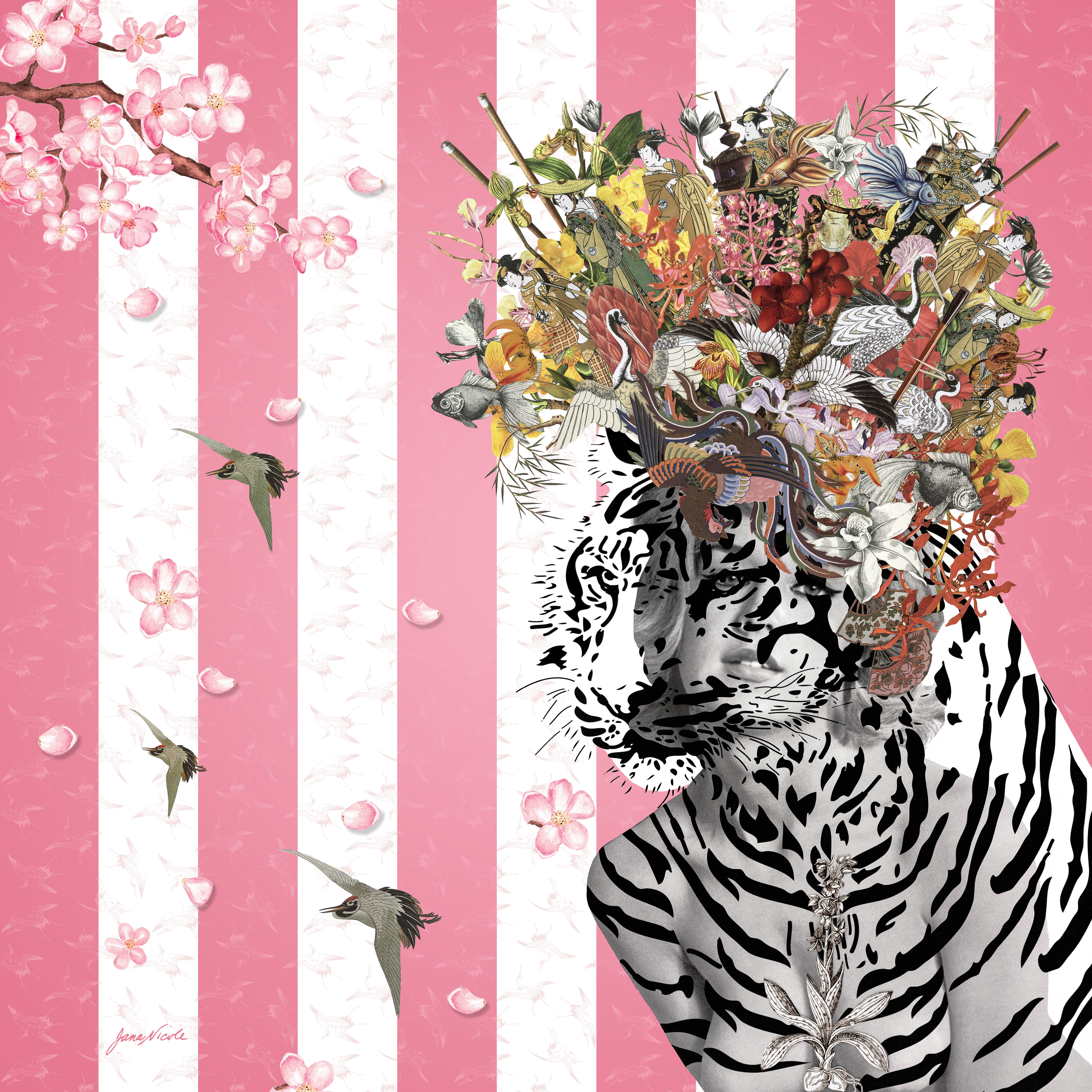 Collage artwork by Jana Nicole Conway