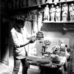 Sculptor Massimiliano Pelletti