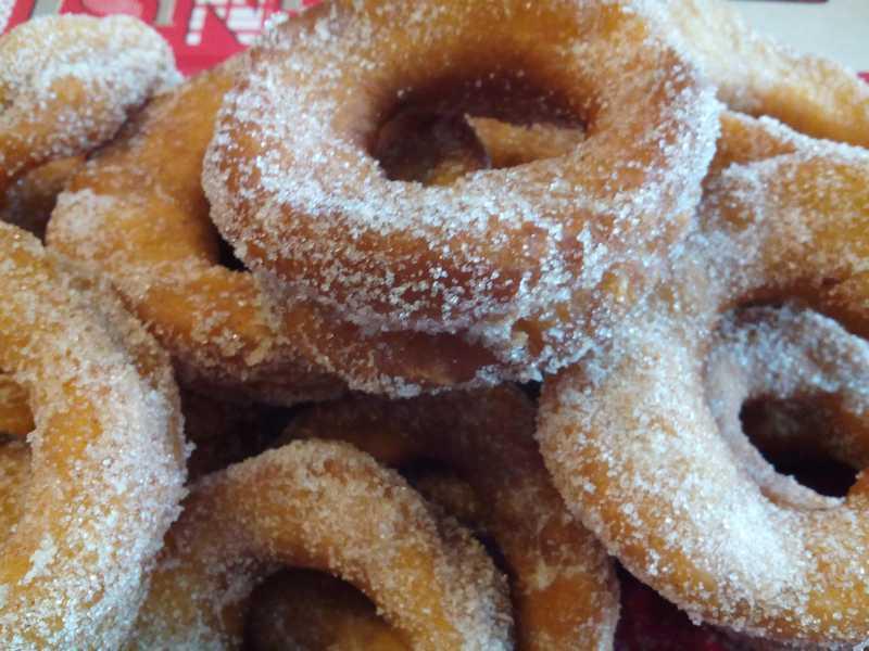 roscos fritos de anís de Orellana