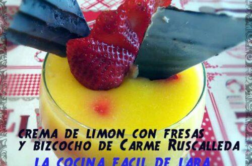 Crema de limón de Carme Ruscalleda