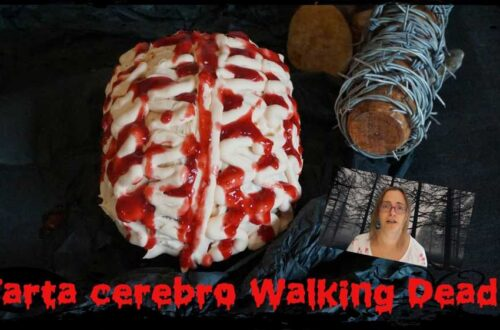 Tarta cerebro Walking Dead