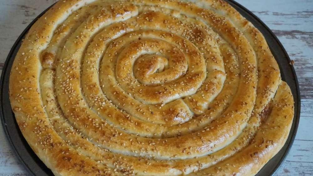empanada en espiral