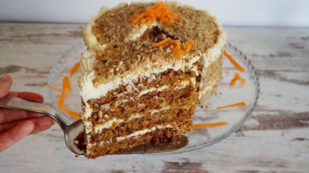 carrot cake estilo starbucks
