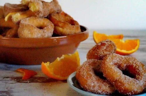 roscos fritos de naranja