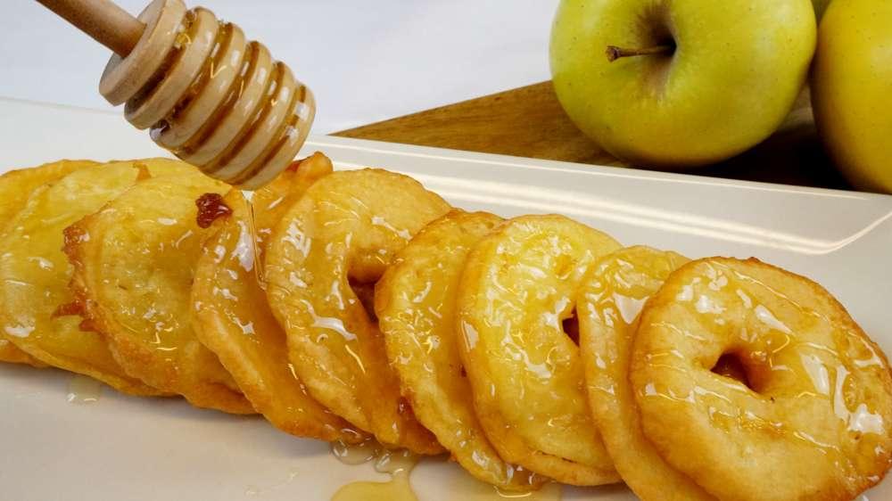 buñuelos de manzana o fritelle di mele