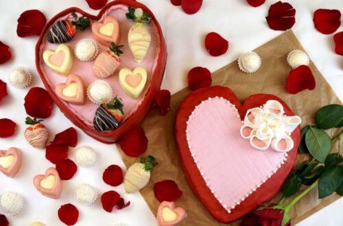 tarta caja de bombones