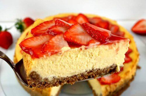 la mejor tarta de queso new york cheesecake