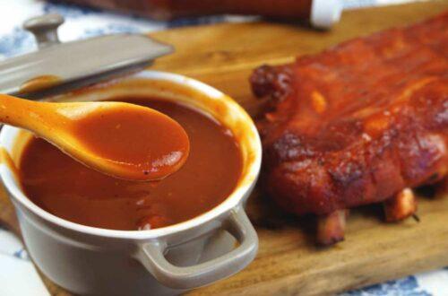 salsa barbacoa casera con ingrediente secreto