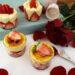 chantilly de natillas con fresas