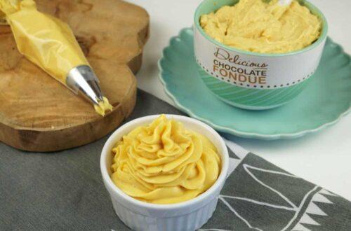 crema pastelera de vainilla