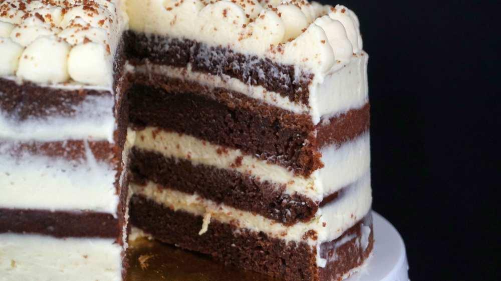 layer cake super jugosa con ingrediente secreto