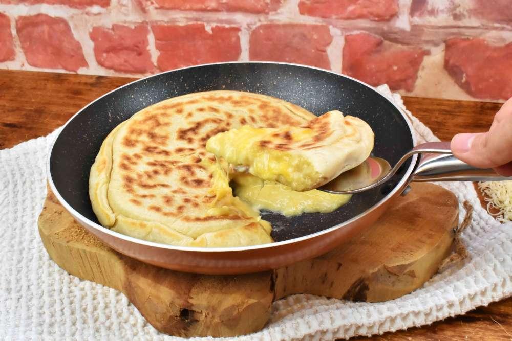 pan de queso a la sartén