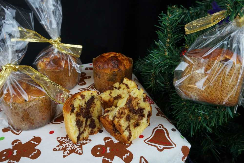 pan dulce de navidad para regalar