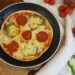 pizza a la sarten sin levadura y sin horno