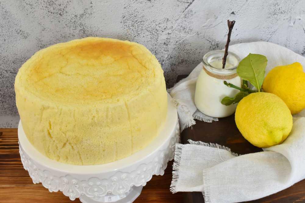 pastel nube de limón