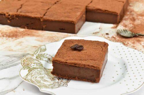 pastelitos mágicos de chocolate y café
