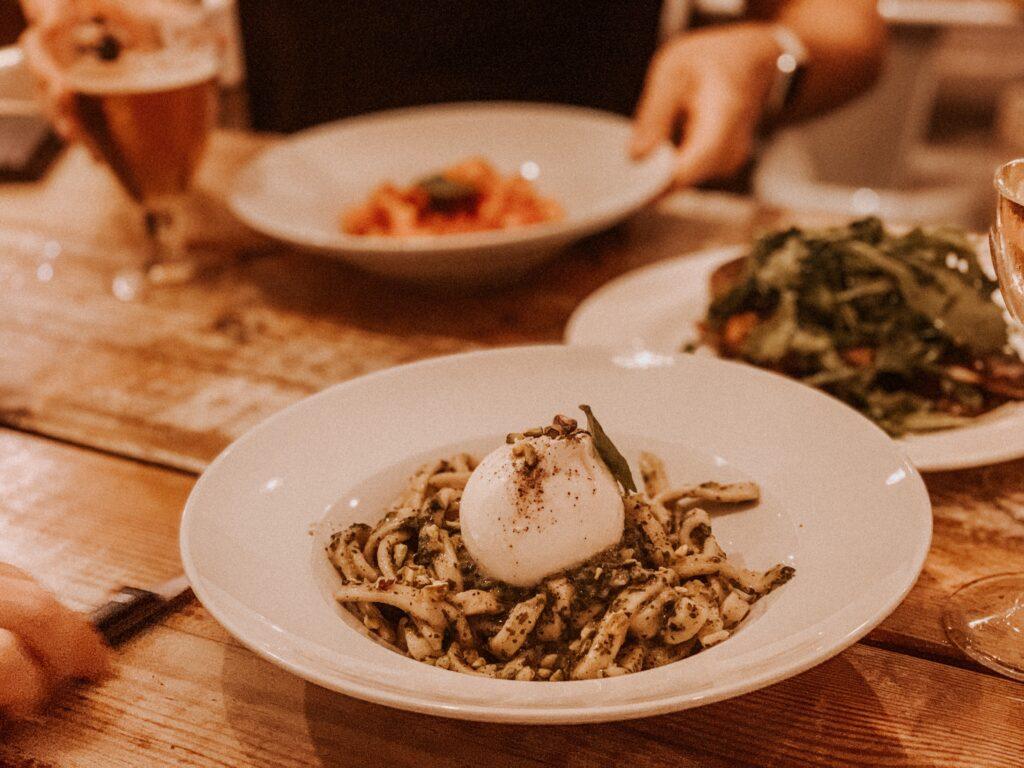 Scialatielli Pesto e Burrata