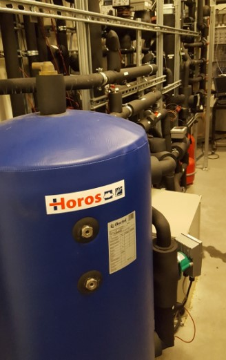 This formation is necessary since it involved connected collector-heating installations.
