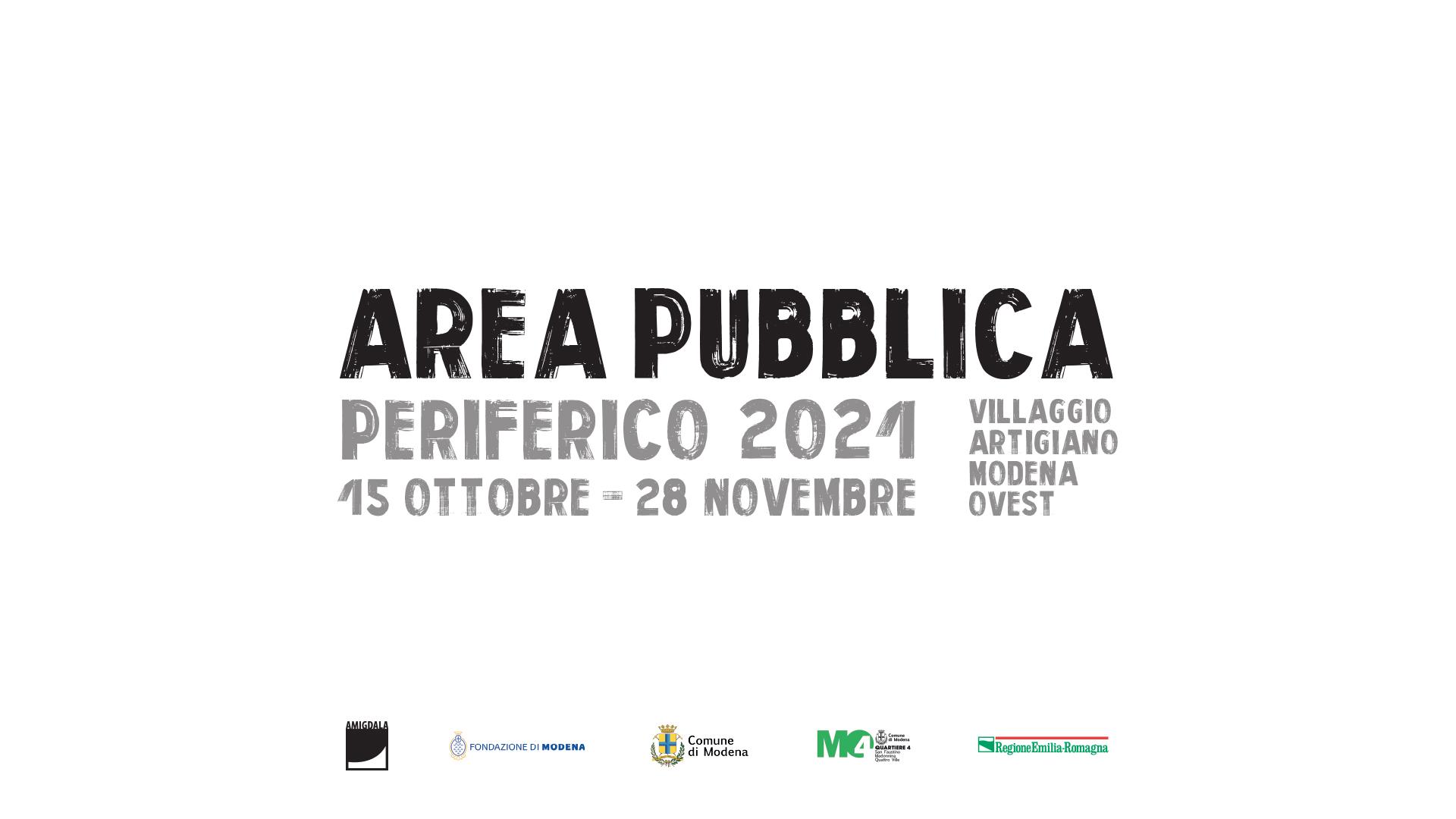 Periferico festival 2021 - area pubblica