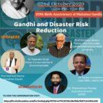 Webinar: Gandhi and Disaster Risk Reduction