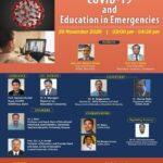 Webinar : COVID-19 and Education in Emergencies