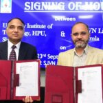 SJVN signs MoU with HP University Institute of Technology, for Skill Development