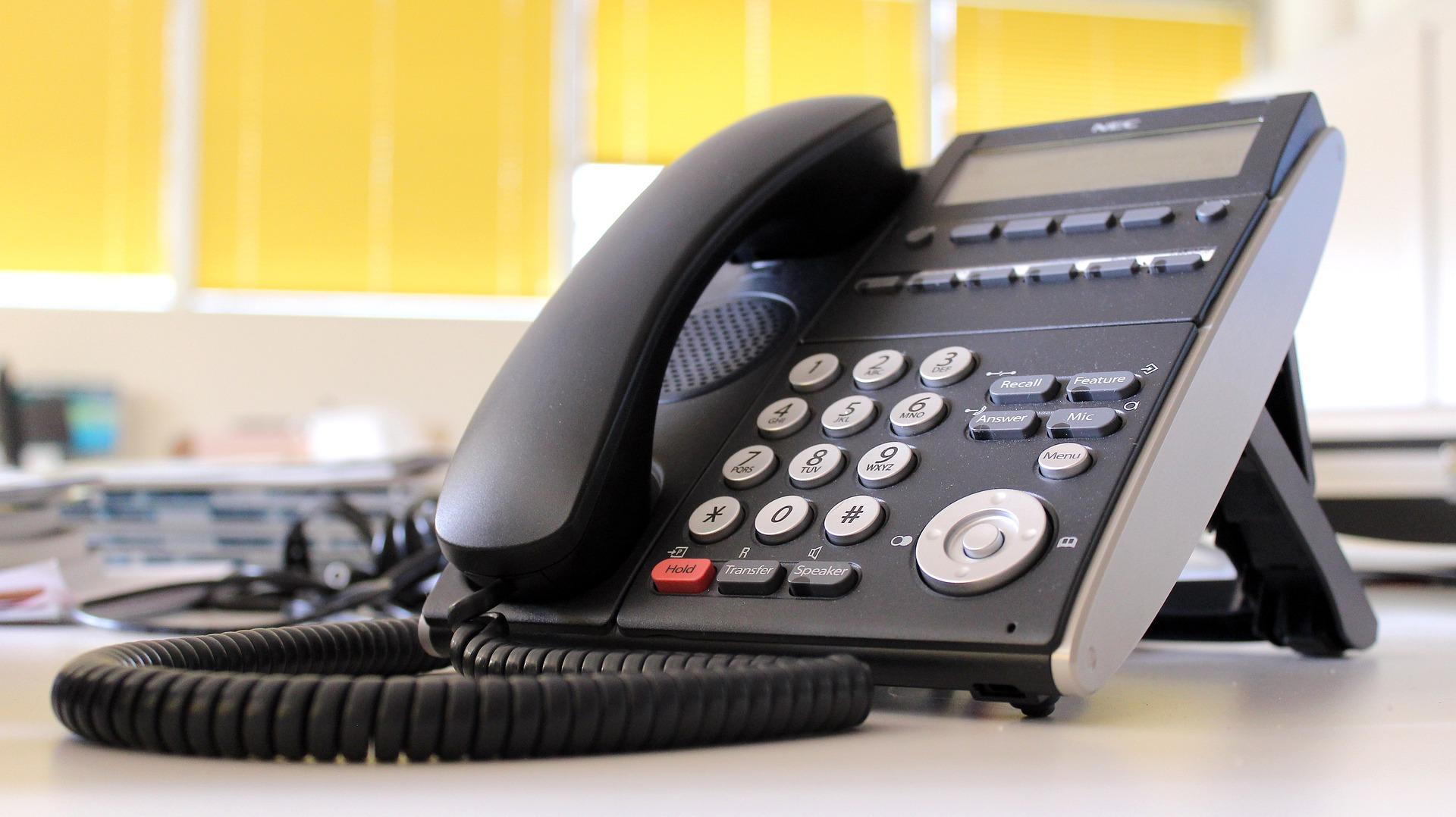 office vishing calls