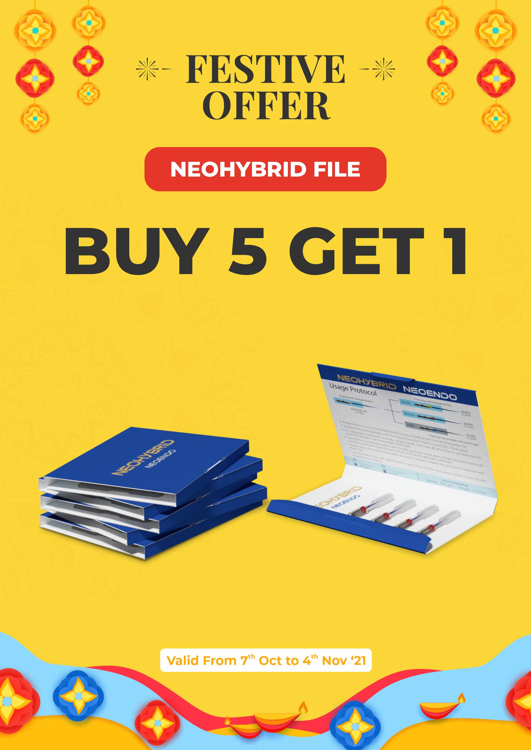Neohybrid File | Festive Offer | Orikam