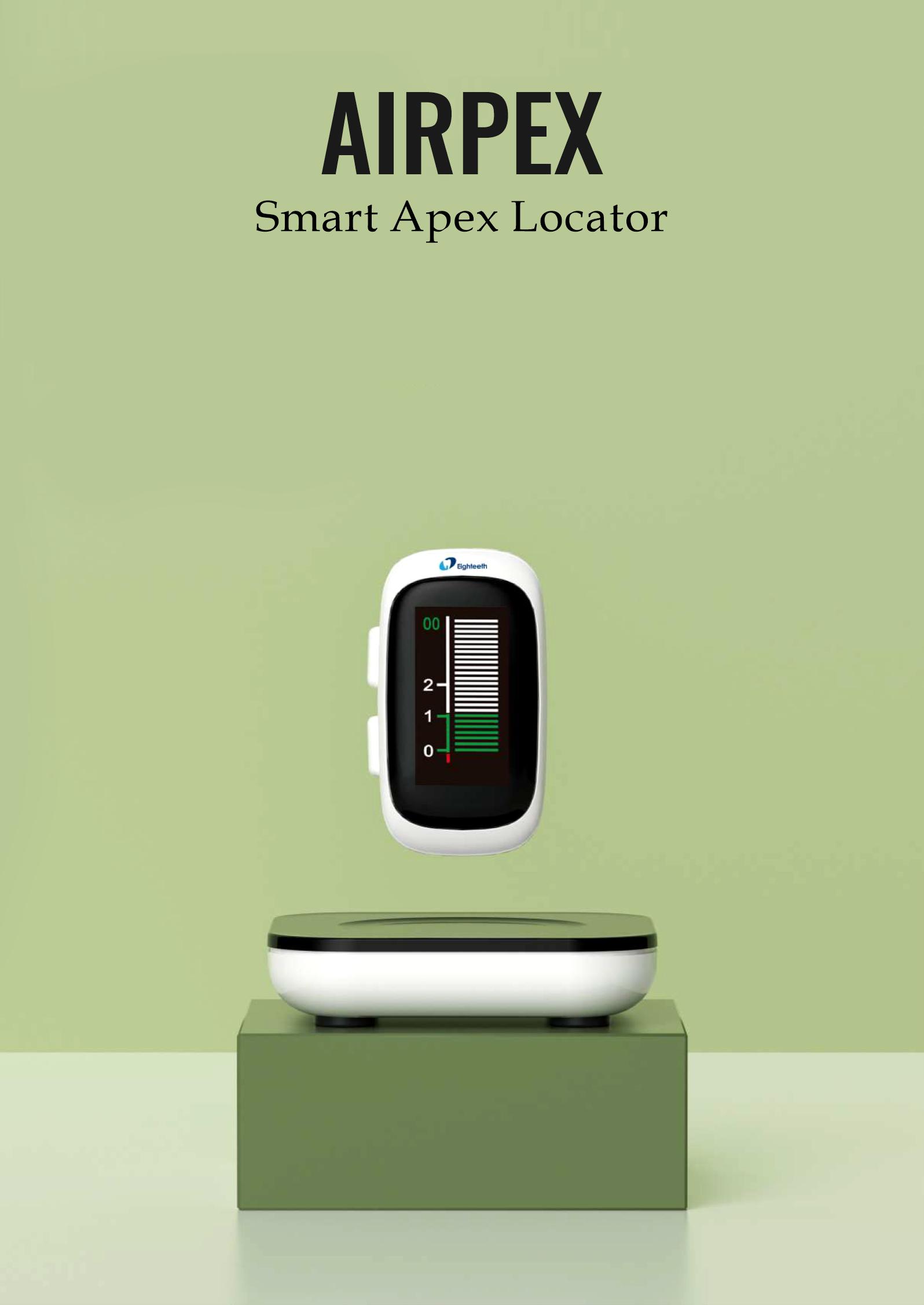 AirPex - Wireless Apex Locator | World's Smallest Apex Locator | Orikam
