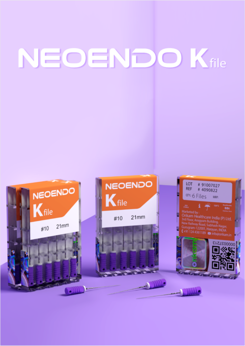Neoendo K-File- Used For Canal Negotiation | Orikam