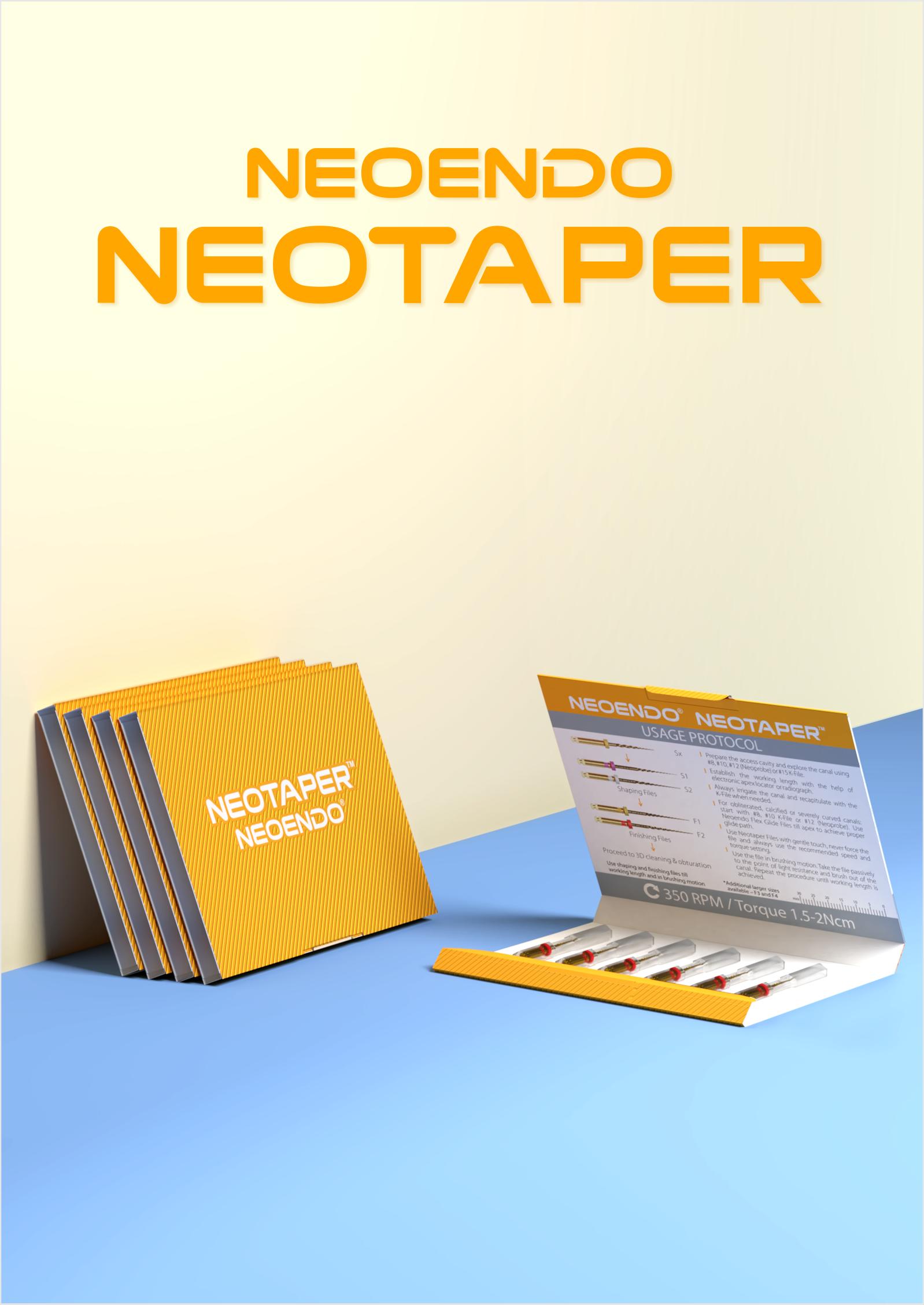 Neotaper Rotary File | Neoendo | Orikam