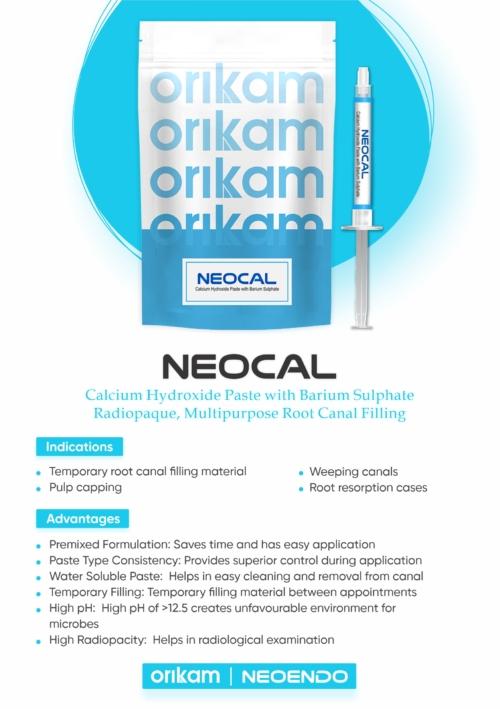 Neocal- radiopaque calcium hydroxide paste | Orikam