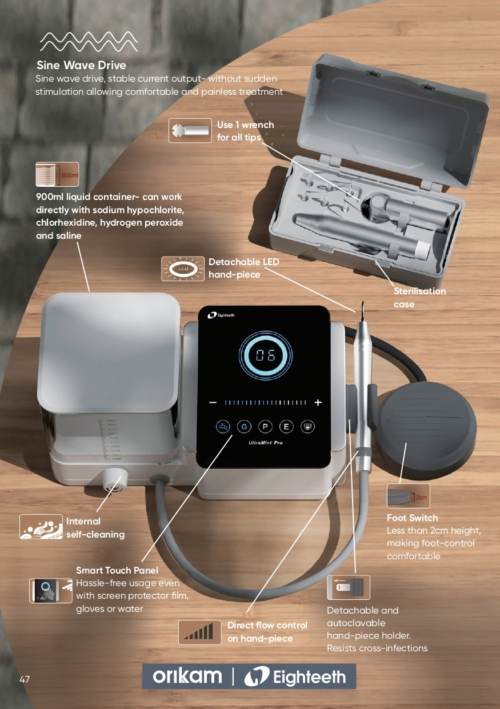 UltraMint Ultrasonic Scaler | General, Perio & endo | Eighteeth | Orikam