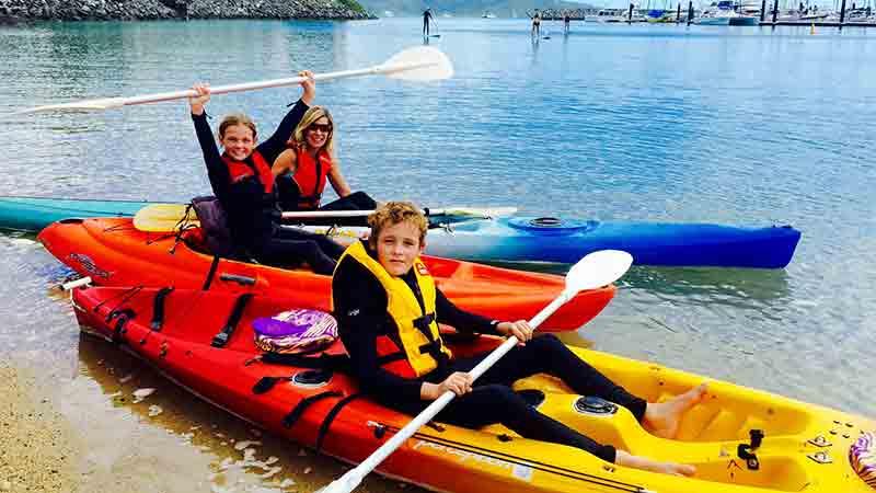 Kayak hire Whitsundays
