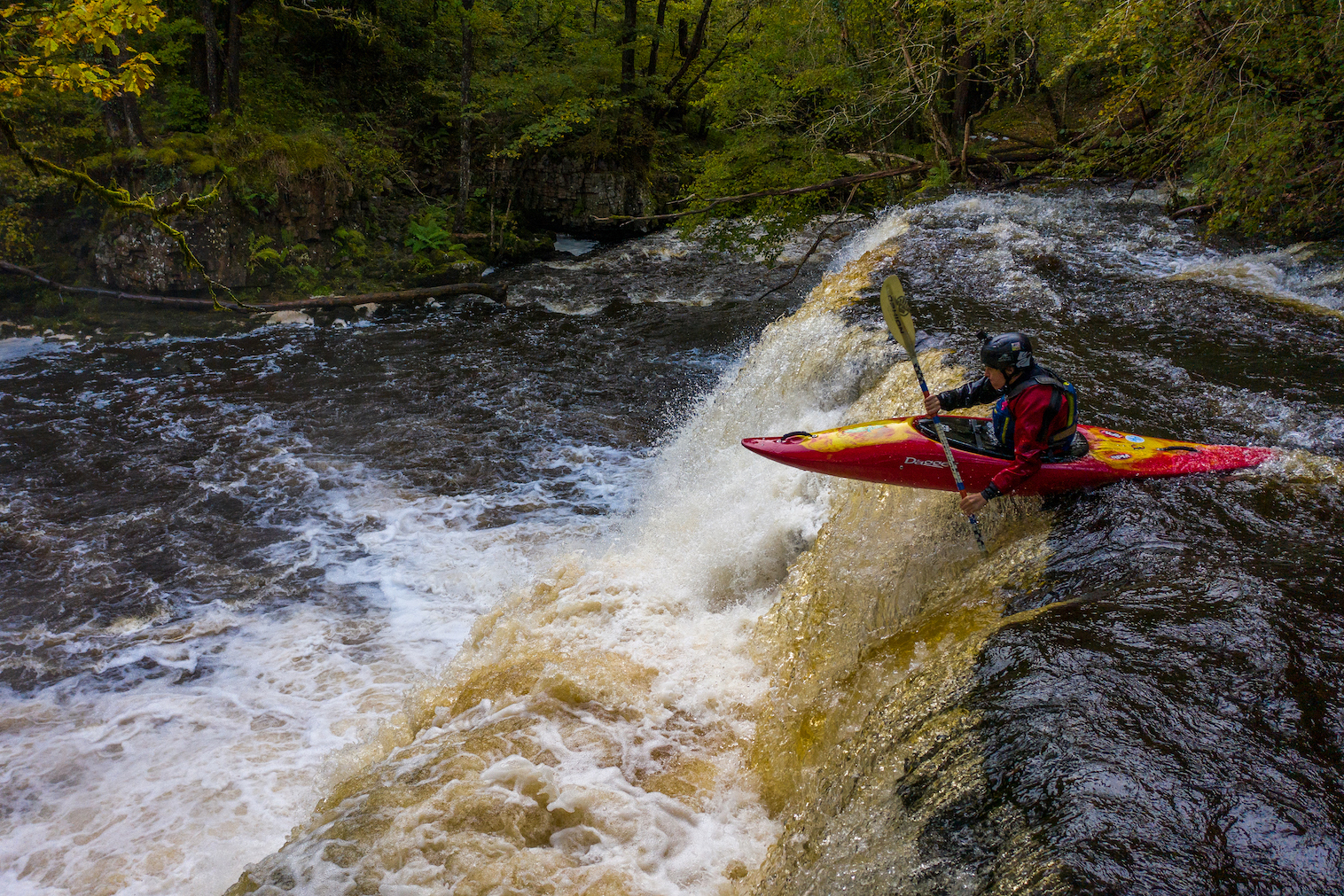 Mellte Kayaking Sgwd Yr Pannwr Andy Kettlewell/ Pistyll Productions