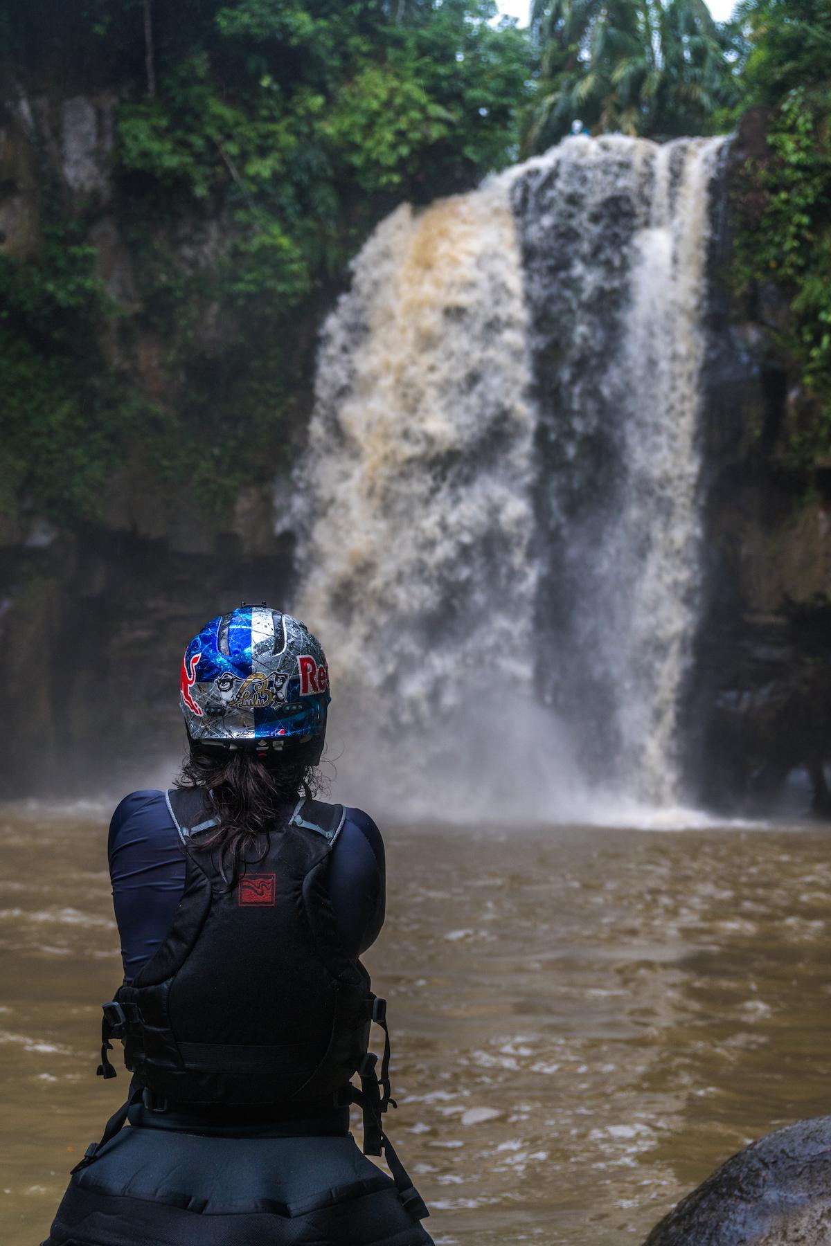 Nouria Newman Scouting A Waterfall Asahan John Haines/ Pistyll Productions