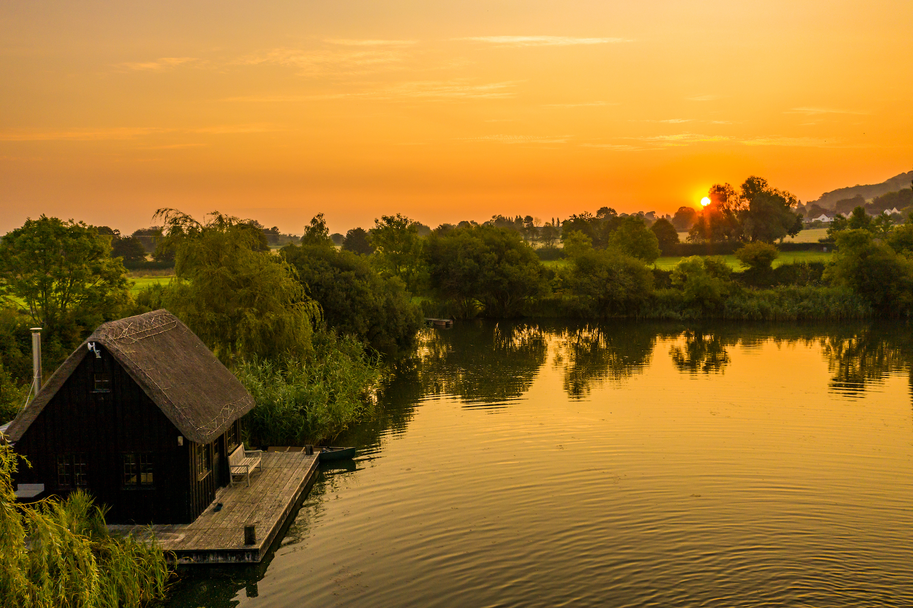 Priory Estate Sunrise Andy Kettlewell/ Pistyll Productions