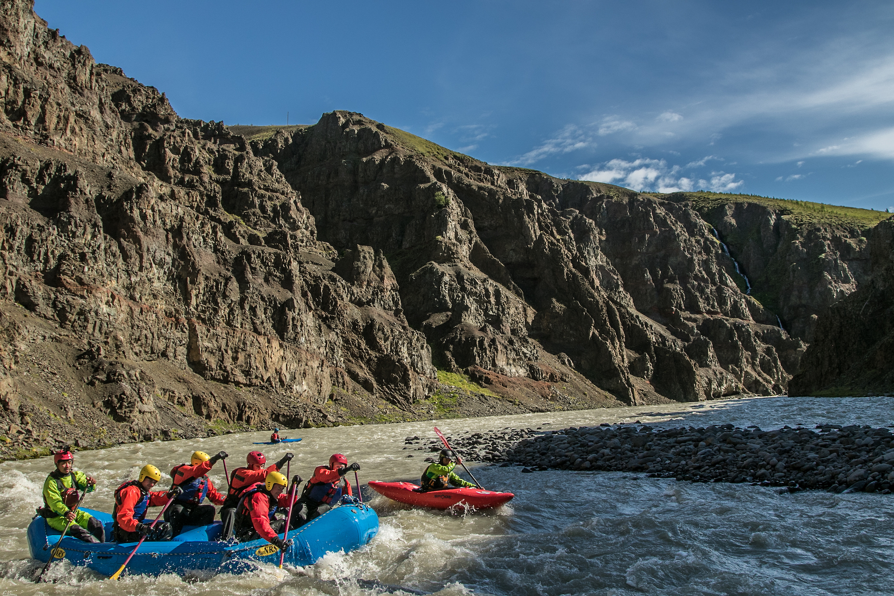 White Water Rafting - Viking Rafting Andy Kettlewell/ Pistyll Productions