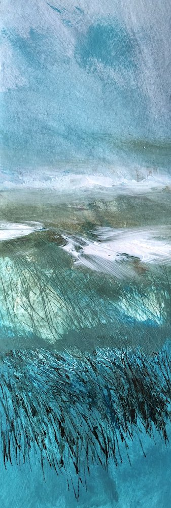 Atlantic Blue | 42 x 15cms | 16 x 6ins | €500
