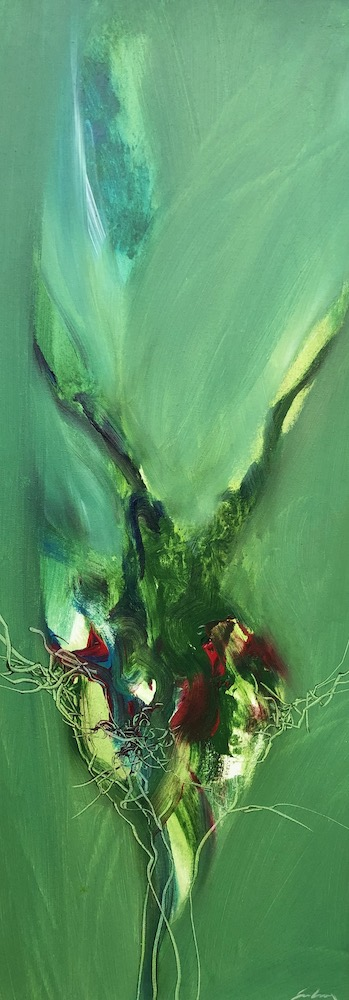 Wildflowers Forest Floor | 80 x 30cms | 31 x 12ins | €1800