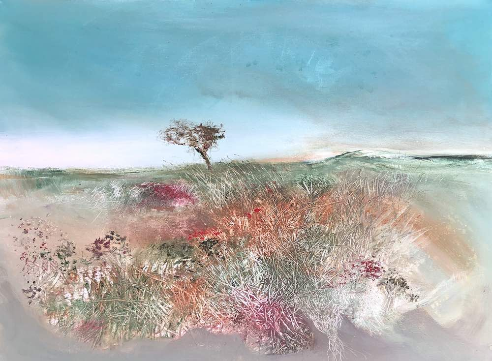 SOLD | Hawthorn Meadow | 46 x 61 cms | 18 x 24 inches | €1850