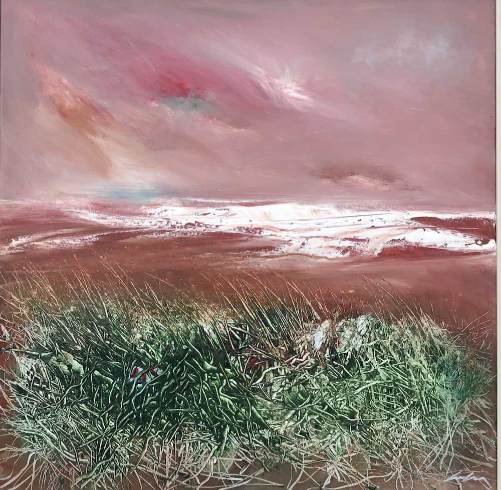 Red Sky Atlantic  | 61 x 61cms | 24 x 24ins | €2700