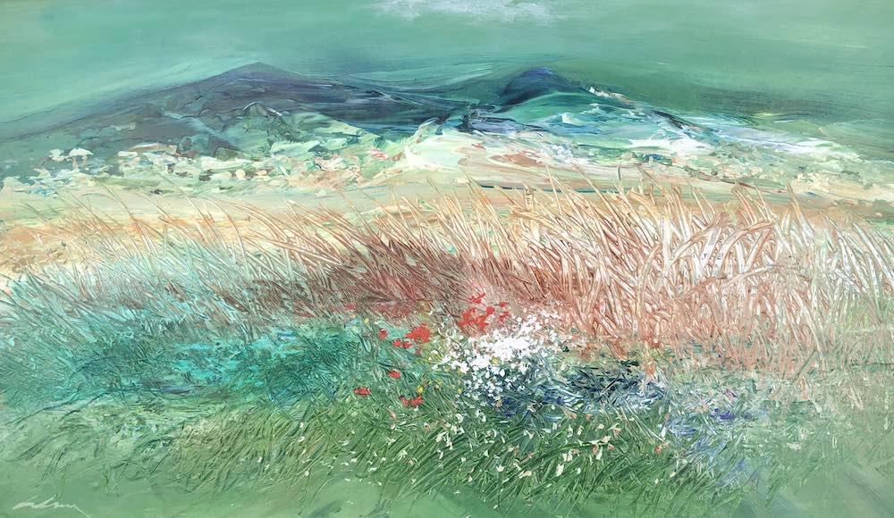 Summer Meadow | 30 x 48cm | 11.5 x 19ins | €1200