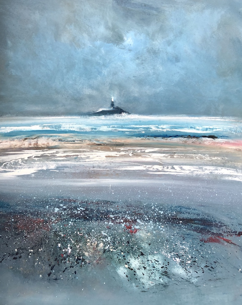 SOLD | Fenit Lighthouse 2 | 51 x 44 cms | 20 x 17 ins | €1700