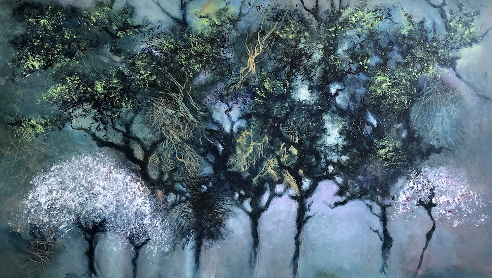 SOLD | Treescape | 40 x 70 cms | 15 x 27ins | €2000