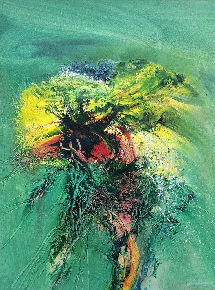 Gorse Hedgerow | 19 x 16 ins | 50 x40 cms | €1600