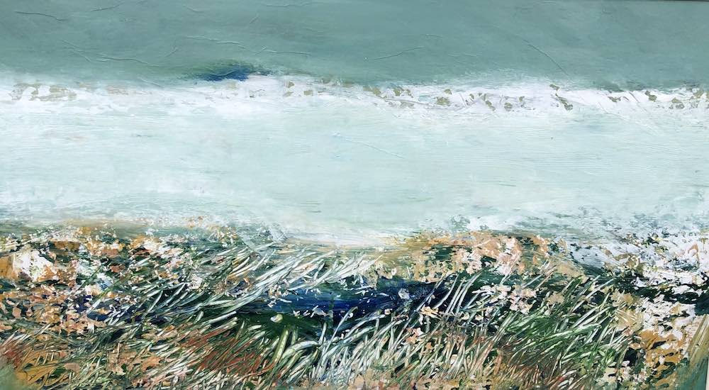 Winter Surf | 12 x 19ins | 30 x 50 cms | €1200